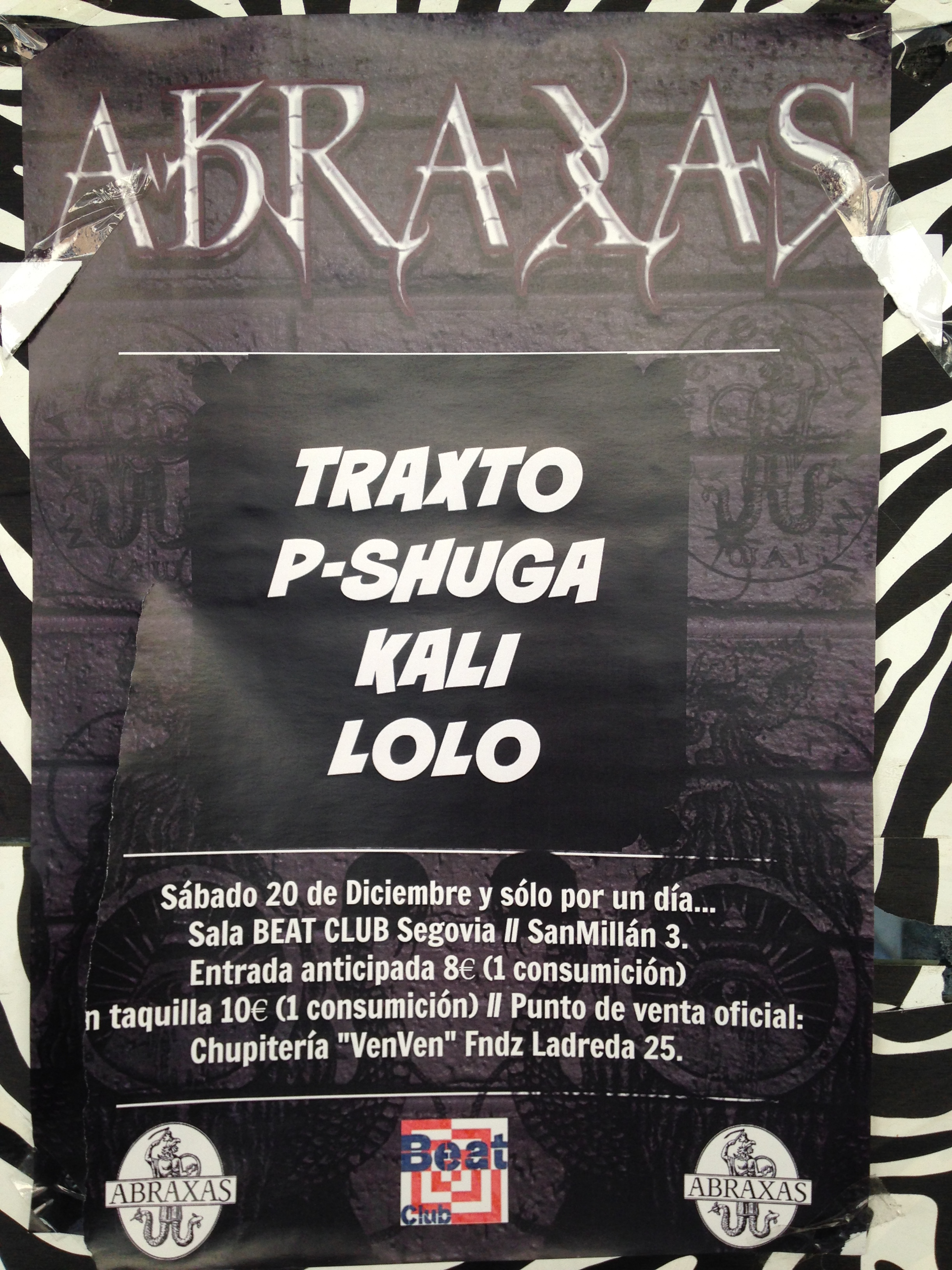 A remenber party as a tribute to the Abraxas club founded in 1993.